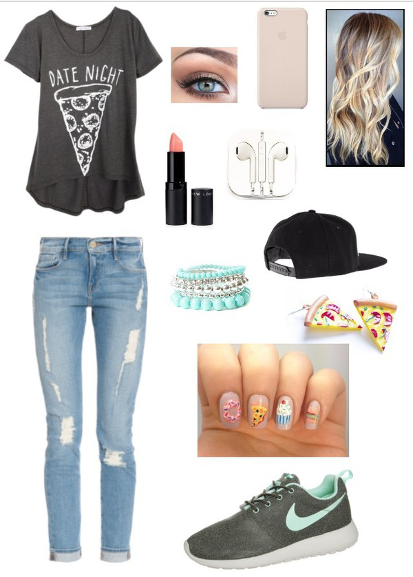 t-shirt fashion style pizza