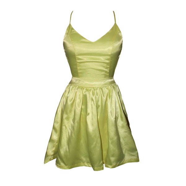 feclothing                  - 2014 Lady Luck Dress in Sunshine Yellow Sweet tie-back dress