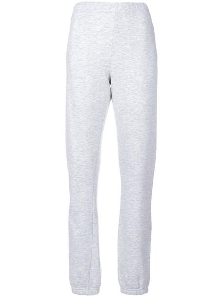 yeezy pants track pants women cotton grey