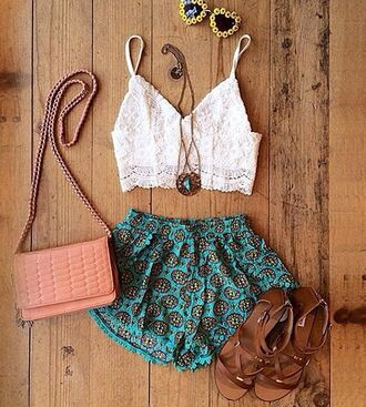 shorts boho chic hipster shoes