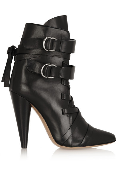 Royston leather ankle boots