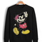 Drop dead mickey mouse sweatshirt