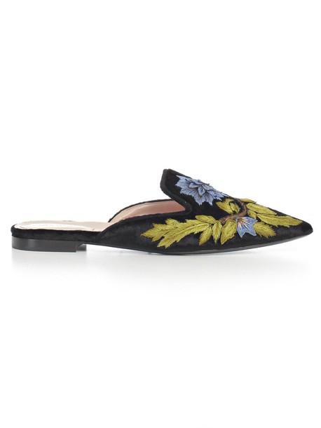 Alberta Ferretti sandals black shoes