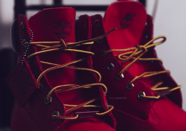 shoes red timberlands timberlands red