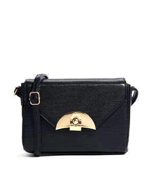 ASOS | ASOS Boxy Lock Bag at ASOS