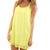 Neon Bow Dress, Yellow :: The Blue Door Boutique