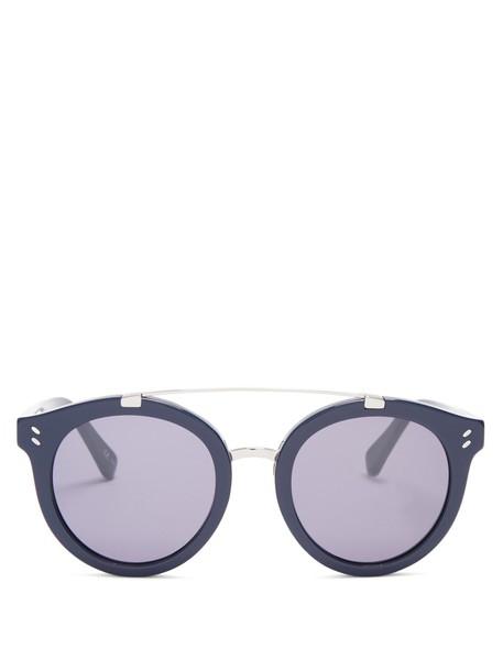 Stella McCartney sunglasses blue