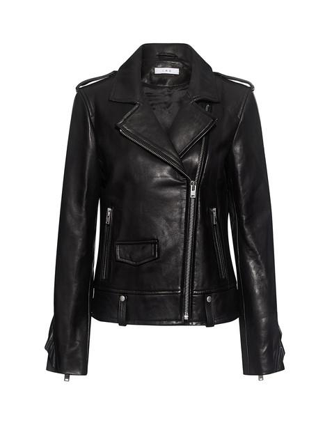 Iro jacket leather jacket leather black