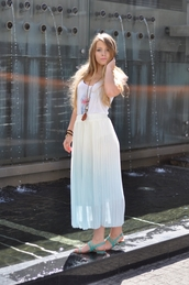 skirt,long skirt,summer,outfit,fashion,persunmall,persunmall skirt,green,white