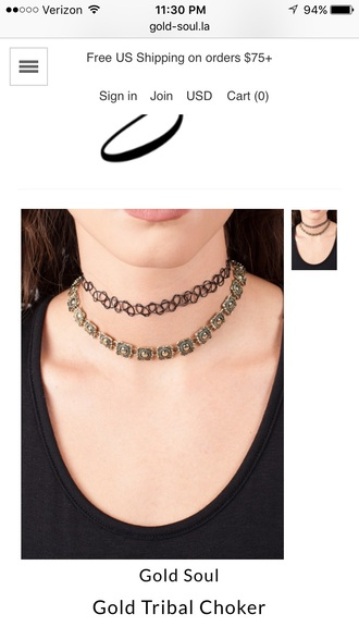 jewels choker necklace accessorie