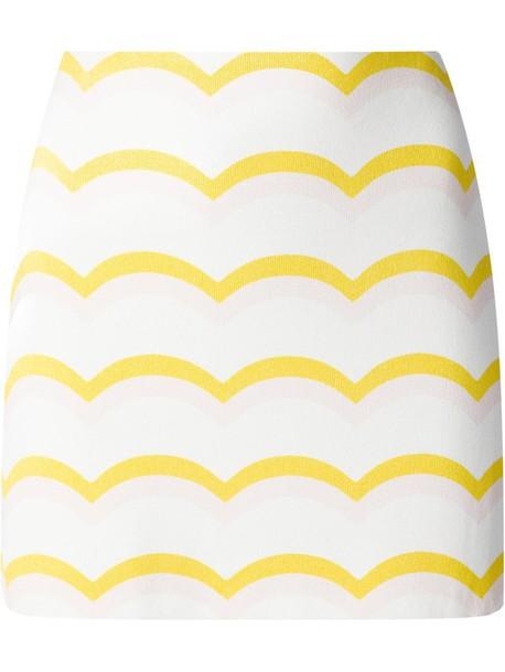 skirt wave print skirt iceberg