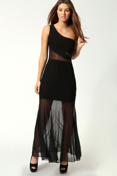 miami dress one shoulder maxi dress night dress maxi dress black maxi dress little black dress black mesh mesh panel mesh dress one shoulder one shoulder dresses one shoulder dress cute all cute outfits cute dress sexy sexy dress night party party dress summer dress