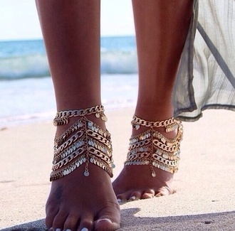 jewels anklet summer anklet anklet jewels summer jewellery beach wedding