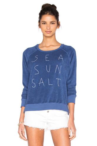 top sun long sea blue