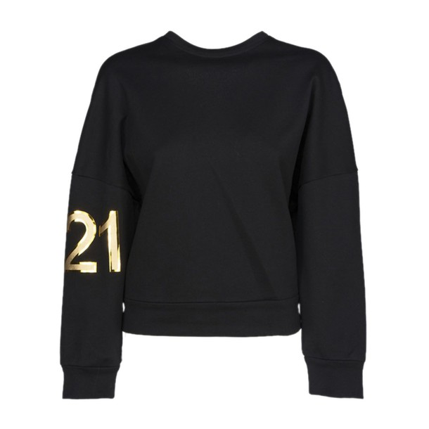 N.21 sweatshirt black sweater