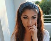 hair accessory,headband,andrea russett,pretty,cute,accessories,grey