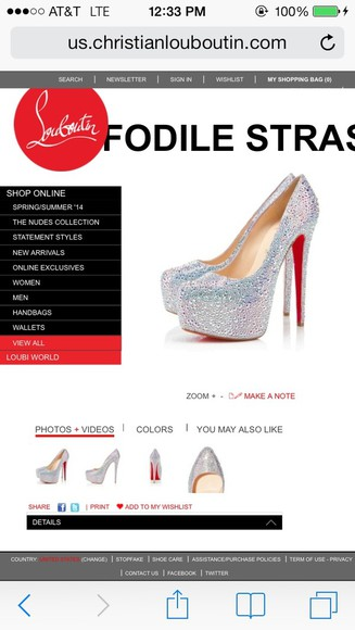 shoes christian louboutin louboutins prom shoes colorful crystals prom2014 redbottoms