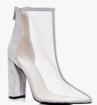 shoes mesh booties