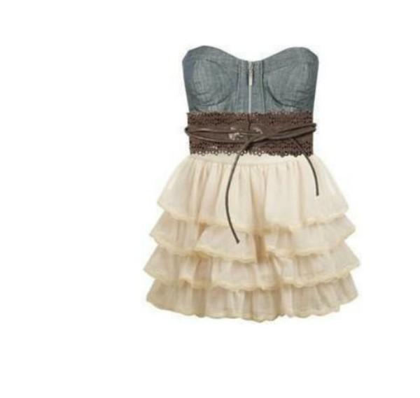 dress brown belt white skirt jeans blua skinny