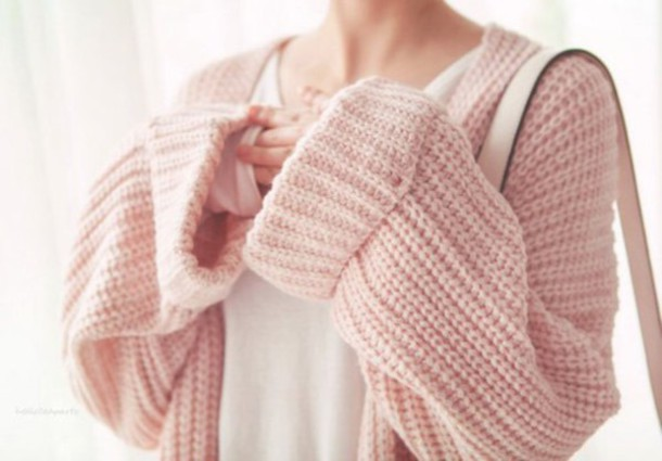 Scarf: cute, kawaii, pink blush, tan, diy, amazing, knitwear ...