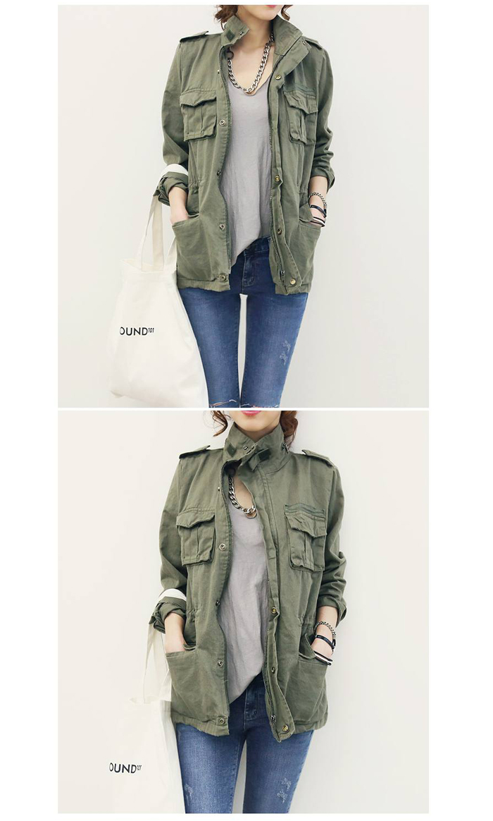 Rakuten: Military jackets and spring mods coat: ナンニング ★ naning9 ナンニング 9 regular sale winter spring new Spring trend ACODESIGN Korea fashion store- Shopping Japanese products from Japan
