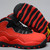 Fusion Red Orange and Black Colorways Girls Size Air Jordan Retro 10 Nike Sport Shoes