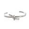 Knot silver cuff – wanderlust   co