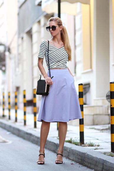 sirma markova shoes bag skirt t-shirt