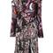 Versace - wild side print dress - women - silk/viscose - 42, silk/viscose