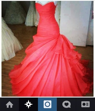 dress prom dress long prom dress mermaid prom dresses pink prom dress pink pink dress coral dress coral classy elegant prom gown elegant prom dresses red dress prom