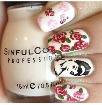 nail polish nail art audrey hepburn sinful colors