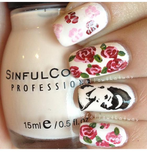 audrey hepburn nail polish nail art sinful colors