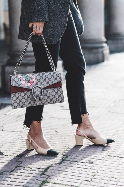 shoes, chanel slingback shoes, chanel