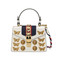 Gucci - sylvie animal studs leather mini bag - women - leather/suede/nylon/metal - one size, white, leather/suede/nylon/metal