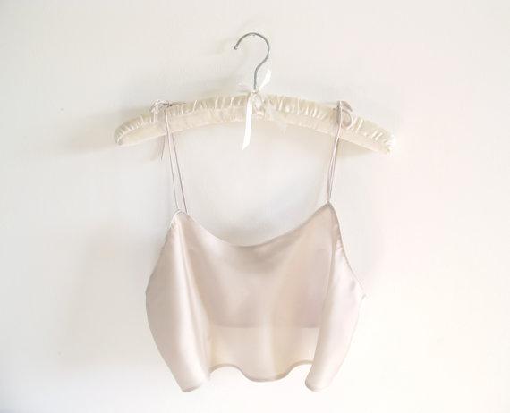 Marilyn Cropped Camisole van AuroraLingerie op Etsy