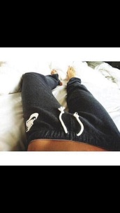 pants,nike,sweatpants,grey