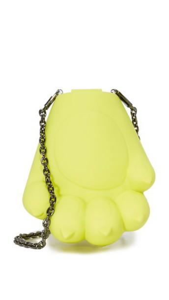 Kenzo Tiger Paw Cross Body Bag - Honey