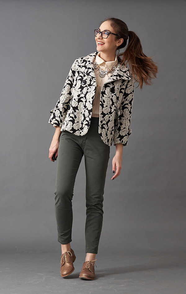 olympia blouse jewels jacket shoes