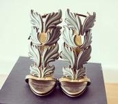 shoes,heels,giuseppe zanotti,grey,high heels