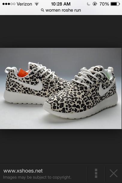 online store ff40c 744c9 ... discount shoes leopard print cute shoes black white nike roshe run  leopard print bikini swimwear e6b5c
