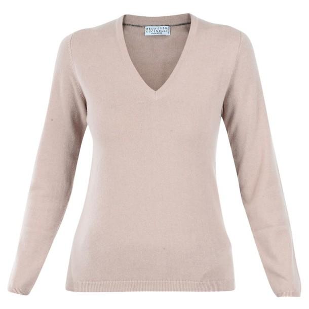 BRUNELLO CUCINELLI sweater rose