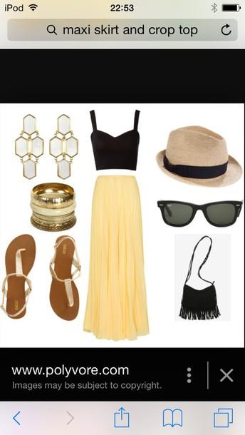skirt top hat