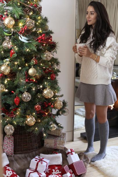 Sweater Tumblr Holiday Season Holiday Home Decor Knee