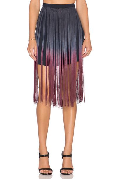 Candela skirt blue