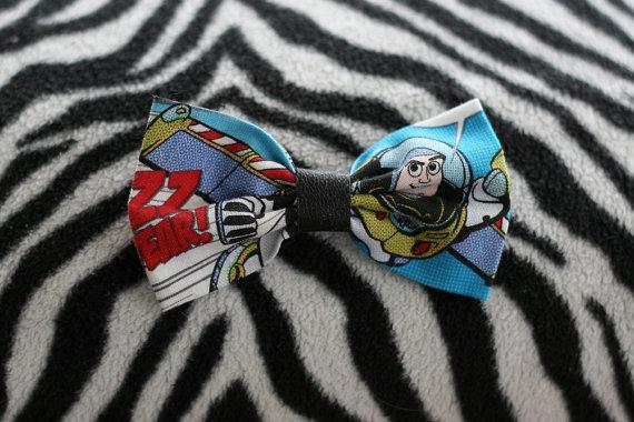 Buzz lightyear hair bow by hellhoundfashion on etsy