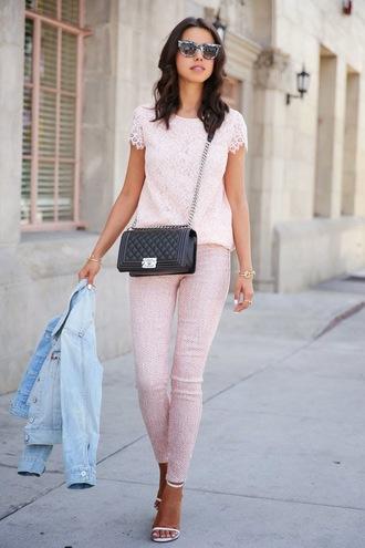 viva luxury shoes t-shirt jeans sunglasses bag jewels nail polish