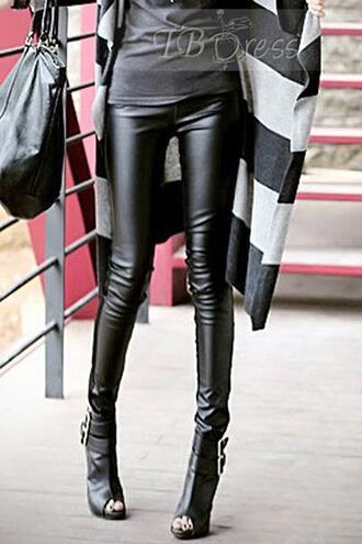 leggings black black leggings leather leggings faux leather leggings