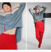momo fashion: Szaraczek Oversize by momo - Lamoda.pl