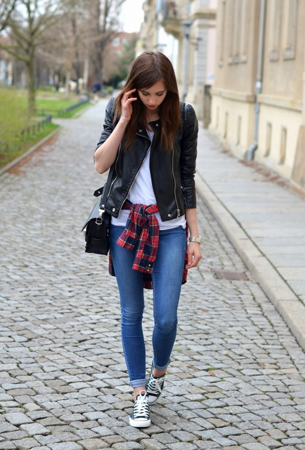vogue haus t-shirt jeans blouse jacket shoes bag jewels