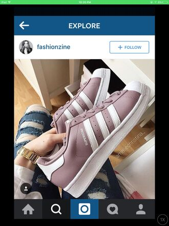 shoes adidas instagram superstar kylie jenner kardashians purple pastel pink white adidas superstars pastel adidas shoes light purple low top sneakers mauve blush shoes mauve shoes mauve and white tumblr grunge classy cute sportswear blush mauve blush white blush pink blush pink pink mauve mauve velvet mauve pink bomber jacket purple shoes pink shoes adidas originals gray pink adidas adidas supercolor adidas 3 stripes adidas pink sports shoes sporty sporty chic sport shoes sports shorts trainers deep blush pink purple or pink and white lace pink white deep pink white pink blushes